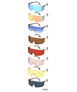 12 Pieces/Pack Fashion Sunglasses U8818