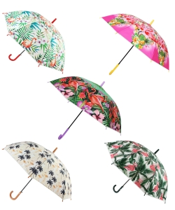 12 pcs  Classic Printed Umbrella UM0048