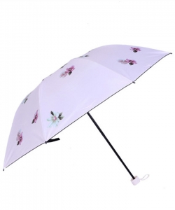 Printed Folding Umbrella UM0072 WHITE