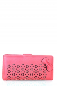 Faux Leather Clutch US1069 Pink