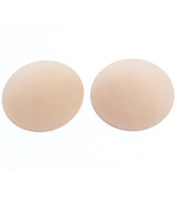 Fabric Silicon Reusable Nipple Cover UW300007 NUDE
