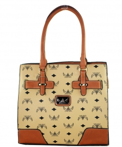 WK Collection Handbag W1002 APRICOT