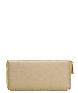 Fashion Textured Wallet W1168 LGOLD