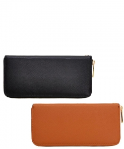 Package of 5 Fashion Textured Wallet W1168