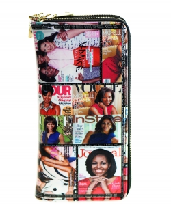Magazine Fashion wallets W4099MO-MT MULTI