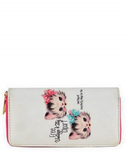 Trendy Designer Fashion Wallets WA004