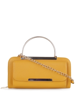 All-in-One Versatile Mini Bag Wallet WA1230  MUSTARD