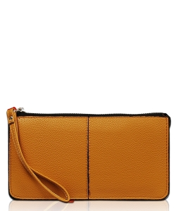 New Fashion Zip Wallet WA1288-3 CAMEL