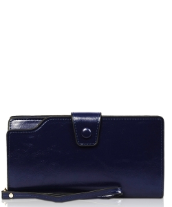 New Fashion Multi Compartment Wallet WA1424-1 BLUE