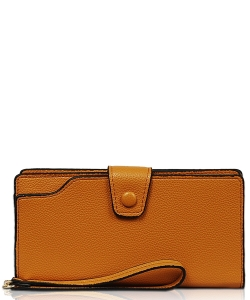 New Fashion Multi Compartment Wallet WA1424-3 CAMEL