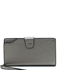 New Fashion Multi Compartment Wallet WA1424-3 PEWTER