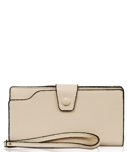 New Fashion Multi Compartment Wallet WA1424-3 IVORY