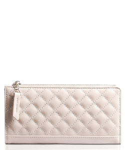 Nichole Quilted Wallet WA1758 GRAY