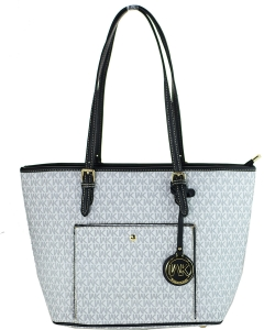 WK Collection Handbag WK90004 WHITE