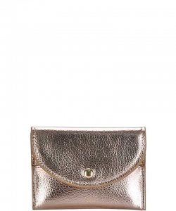 Cute Mini Fashion Card Wallet WLS-48504  ROSEGOLD