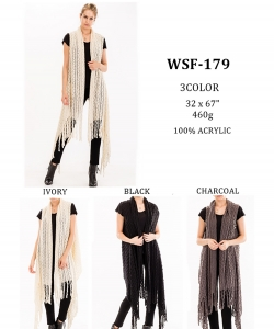 Styled Poncho  WSF-179 A Dozen pack