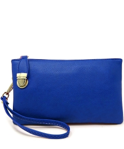 Womens Multi Compartment Functional Crossbody Bag WU020B RBLUE