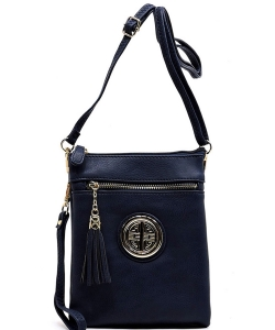 Fashion Logo Hipster Cross Body Bag WU022L NAVY
