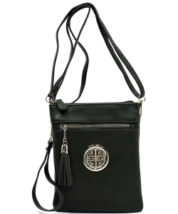 Fashion Logo Hipster Cross Body Bag WU022L OLIVE