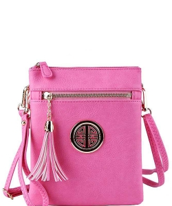 Fashion Logo Hipster Cross Body Bag WU022L PINK