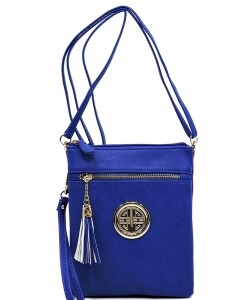 Fashion Logo Hipster Cross Body Bag WU022L RBLUE