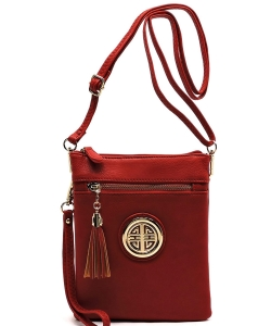 Fashion Logo Hipster Cross Body Bag WU022L RED