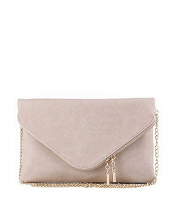 Large Clutch Design Faux Leather Classic Style WU024 BRICK