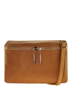 Messager  Simple  Zip-Around WU032 CAMEL