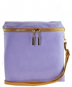 Messager  Simple  Zip-Around WU033 LAVENDER