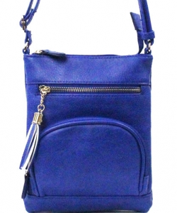 Elegant Fashion Cross Body Bag WU077 ROYAL BLUE