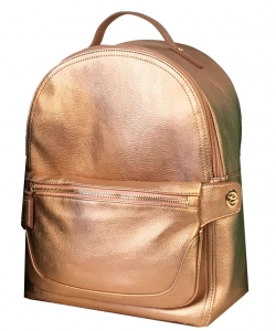 WU1090 2 in One Multi Compartment Bagpack Set ROSEGOLD