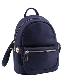 Cute Chic Backpack with Detachable Front Waist Bag WU1095 DSEA