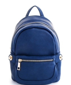Cute Chic Backpack with Detachable Front Waist Bag WU1095 NAVY