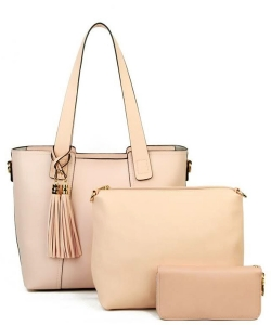 Designer inspired handbag 3-in-1 Bag YH720-PINK