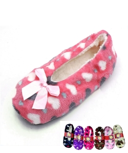 12pairs Cute Fashion Plush Slipper YKW201